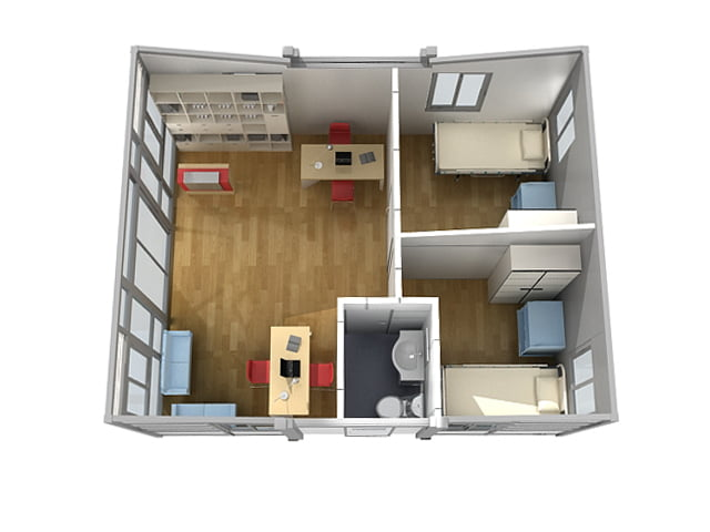 Transportable Home Butterfly T211