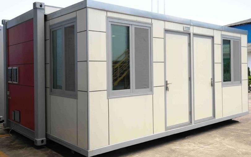 InstantSlide movable park cabins
