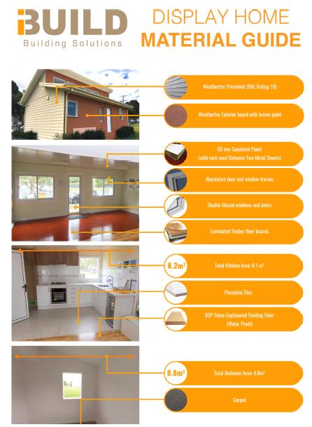 iBuild Melbourne Display Centre Materials Guide (web)