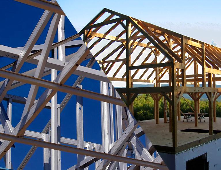 steel vs timber frames
