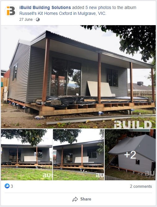 Russell Kit Homes Oxford in Mulgrave VIC